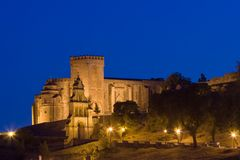 Castelo - fortaleza de Aracena Fotos de Stock Royalty Free