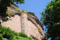Castelo Forte De Fleckenstein Imagens de Stock