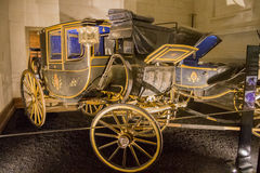 Castelo França Charriot de Chambord Foto de Stock Royalty Free