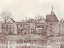 Castelo francês Imagens de Stock Royalty Free
