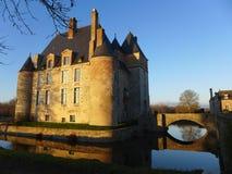Castelo francês Fotos de Stock