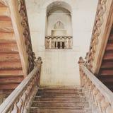 Castelo francês abandonado imagens de stock