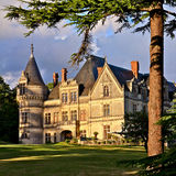 Castelo francês - Amboise, Bourdaisiere Fotografia de Stock Royalty Free