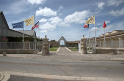 Castelo francês em St Julien foto de stock royalty free