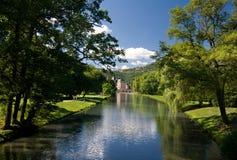 Castelo francês pequeno Foto de Stock Royalty Free