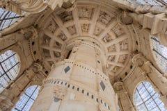 Castelo France de Chambord Fotografia de Stock Royalty Free