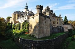 Castelo Frydlant. República checa Foto de Stock Royalty Free
