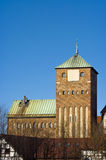 Castelo gótico Fotografia de Stock Royalty Free