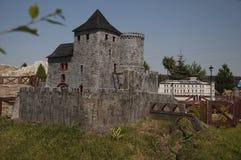 Castelo gótico de Bedzin - miniatura Imagem de Stock Royalty Free