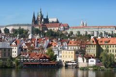 Castelo gótico de Praga Fotos de Stock Royalty Free