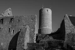 Castelo Gleiberg em Wettenberg, Alemanha imagens de stock royalty free
