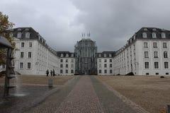 Castelo grande em Sarburgo Imagens de Stock