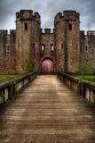Castelo HDR de Cardiff Fotografia de Stock