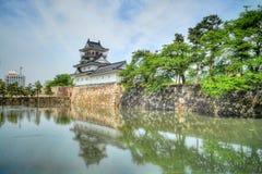 Castelo HDR de Toyama Fotografia de Stock