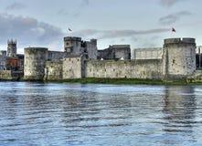Castelo HDR do rei John Imagens de Stock