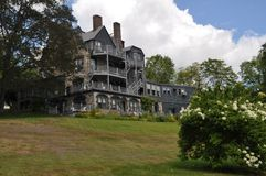 Castelo histórico Fotos de Stock Royalty Free