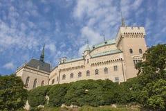 Castelo histórico Bojnice na república eslovaca Fotografia de Stock Royalty Free