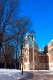 Castelo histórico da arquitetura do classicism fotos de stock