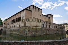 Castelo histórico de Emilia-Romagna. Italy. fotografia de stock