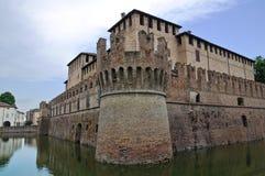 Castelo histórico de Emilia-Romagna. Italy. imagem de stock royalty free