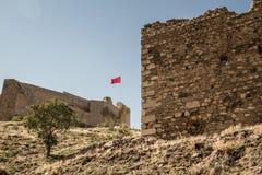 Castelo histórico de Harput em Elazig, Turquia Imagens de Stock