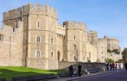 Castelo histórico de Windsor em Inglaterra Foto de Stock Royalty Free