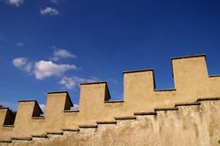 Castelo histórico em Karlstein Fotos de Stock Royalty Free