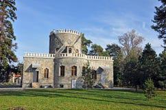 Castelo histórico: hasdeu do iulia Fotos de Stock Royalty Free