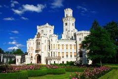 Castelo Hluboka fotografia de stock