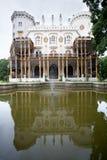 Castelo Hluboka nad Vltavou na república checa Imagens de Stock Royalty Free