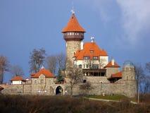 Castelo Hnevin na cidade mais Fotos de Stock Royalty Free