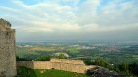 Castelo Hohen Neuffen Imagens de Stock