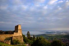 Castelo Hohen Neuffen Imagens de Stock Royalty Free
