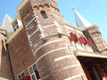 Castelo holandês em Amsterdão Fotos de Stock