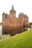 Castelo holandês famoso imagens de stock royalty free
