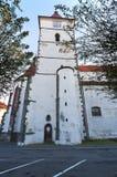 Castelo Horazdovice Fotos de Stock Royalty Free