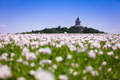 Castelo Humprecht (república checa) Imagens de Stock Royalty Free