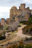 Castelo II de Loarre imagem de stock royalty free