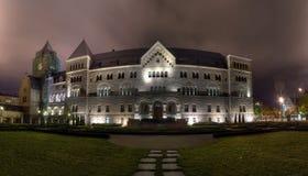 Castelo imperial em Poznan foto de stock