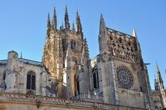 Castelo impressionante na Espanha, Europa Imagens de Stock