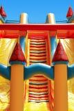Castelo inflável Imagens de Stock Royalty Free