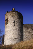 Castelo inglês, Dudley do 8o século foto de stock