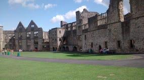 Castelo inglês, Dudley do 8o século fotos de stock