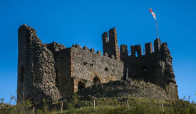 Castelo inglês, Dudley do 8o século fotos de stock royalty free