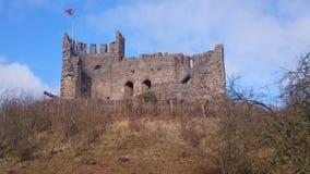 Castelo inglês, Dudley do 8o século fotografia de stock