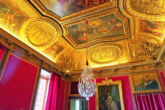 Castelo interior de Versalhes, Foto de Stock