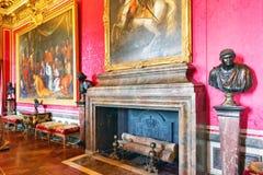 Castelo interior de Versalhes, Fotos de Stock Royalty Free