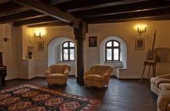 Castelo interno de Draculas Fotografia de Stock