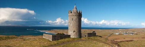 Castelo irlandês antigo velho panorâmico Imagem de Stock Royalty Free