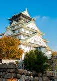 Castelo Japão de Osaka Imagens de Stock